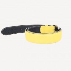 Vacchetta Rindledergürtel gelb