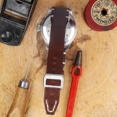 Horween Pull Up Großes Fliegerband Non Stitched ohne Schrauben